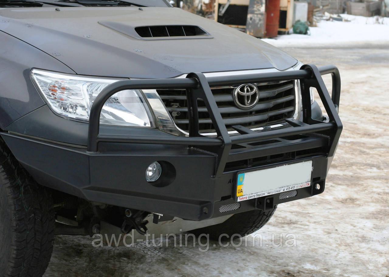 Силовий бампер Toyota Hi-Lux `12+