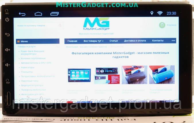 Автомагнитола 2din Pi-707 Android GPS WiFi 4-Ядра 16Гб 1024*600, фото 2