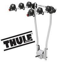 Велобагажник Thule HangOn 974. Багажник для перевозки 3-х велосипедов на фаркоп. Велокрепление.