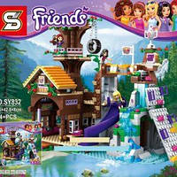 "Конструктор Friends SY832 (10497) ""Спортивный лагерь: дом на дереве"" (аналог LEGO Friends 41122), 754 дет​ KK"