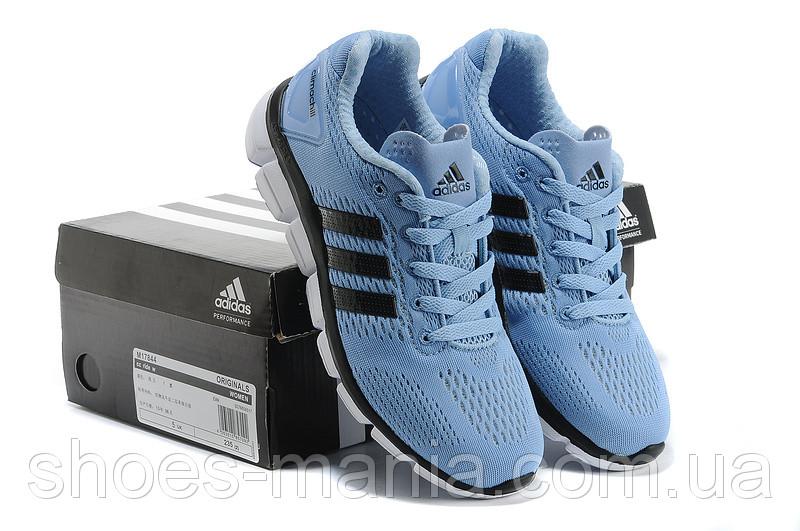 Женские летние кроссовки Adidas Climachill голубые - Интернет магазин обуви  Shoes-Mania в Днепре b3e69ba00cd