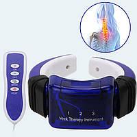Массажер-миостимулятор Neck therapy Instrument, PL-718B Массажер–миостимулятор для шеи,