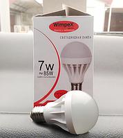 Светодиодная лампа WIMPEX 7w 85w, Диодная лампа для дома, Led лампочка светодиодная, Энергосберегающая лампа