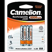 Аккумуляторы camelion r 6 2 штуки 2200 mah ni-mh (nh-aa2200bp2)