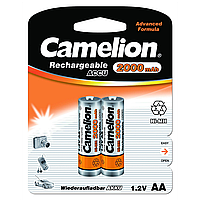 Аккумуляторы camelion r 6 2 штуки 2000 mah ni-mh (nh-aa2000bp2)