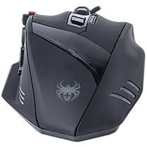 Супер игровая Мышь ZELOTES C-12 С черная с грузиками 9 функциональных кнопок USB 2.0 4000 dpi LED подсветка, фото 2