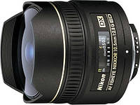 Объектив «рыбий глаз» Nikon AF DX Fisheye-Nikkor 10.5mm f/2.8G ED