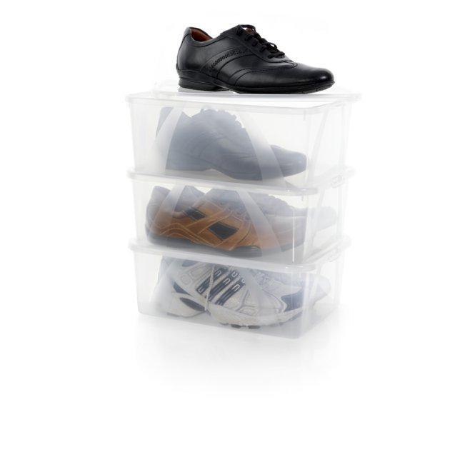 Коробка для хранения мужской обуви Arco 10 литров Rotho -  Интернет магазин Диво Дом в Харькове