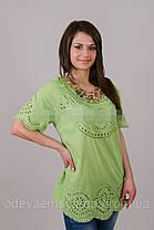 Бавовняна літня блуза №19, фото 2