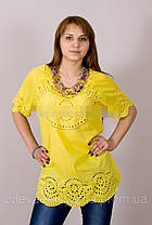 Хлопковая летняя блуза №19, фото 2