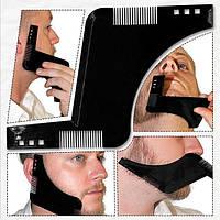Мужская расческа для бороды черная