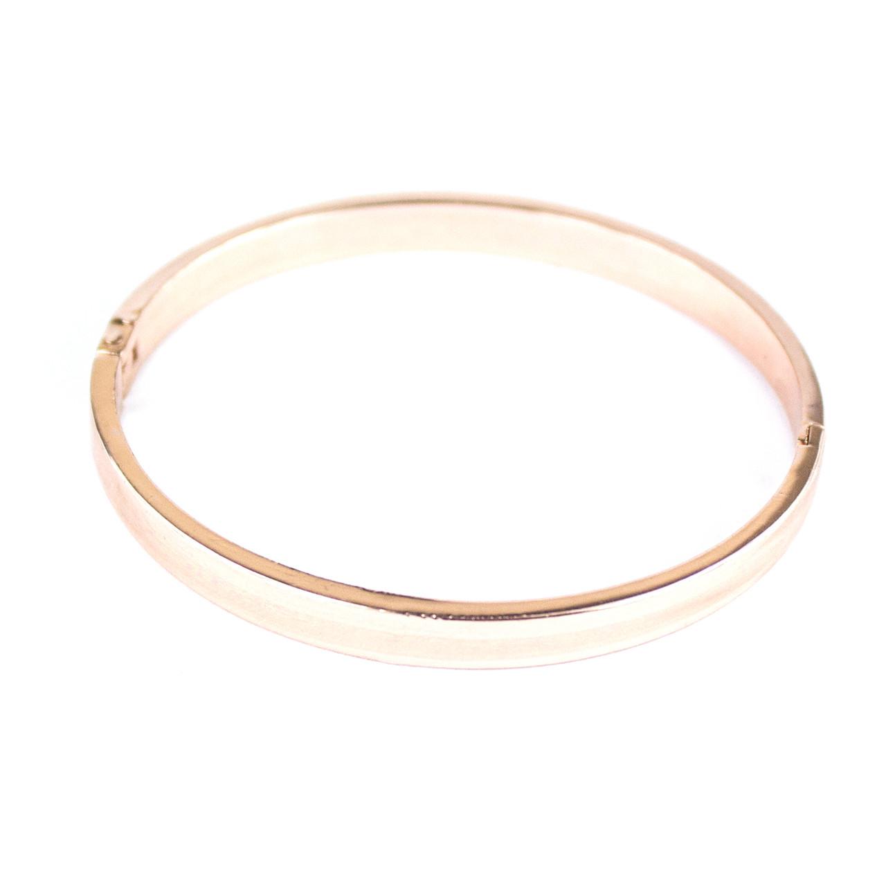 Браслет металлический кольцо