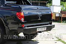 Задний силовой бампер Mitsubishi L 200