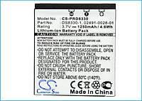 Аккумулятор VIVITAR 02491-0028-00 (1250mAh ) CameronSino