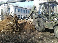 Выкорчевывание деревьев. Корчевание пней цена. Корчевка корней. Вывоз пней.