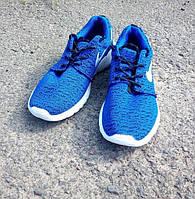 Кроссовки мужские Nike Roshe Run синие