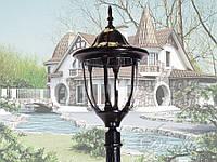 Фонарь садово-парковый DJ024-M-1 BK