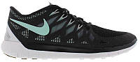 Кроссовки/Кеды (Оригинал) Nike Free 5.0 2014 Black/Medium Mint/Wolf Grey/Cool Grey