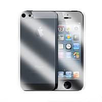 Глянцевая защитная пленка для iPhone 5/5S 10 шт. 5 передняя, 5 задняя
