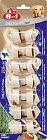 108733 8in1 Delights Beef XS Жевательные косточки для собак, 7,5см/7шт