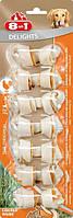 102373 8in1 Delights Chicken XS Жевательные косточки для собак, 7,5см/7шт