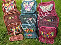 Детский чемодан 3 в 1 Бабочка, фото 1