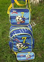 Детский чемодан 3 в 1 Футбол