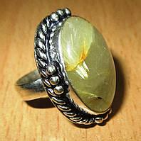 """Кольцо с волосатиком """"Страсть"""", размер  16.4 от студии LadyStyle.Biz, фото 1"""