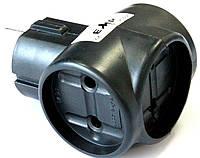 Разветвители электрические 3Т (6А/250V) тройник, черный, фото 1