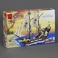 """BRICK 307 """"Пиратский Корабль"""" (18)  590 дет, в коробке"""