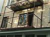 расширение балконов на швеллере