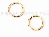 Cерьга кольцо для пирсинга (носа,ушей,губ) 8 мм