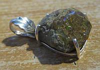 Яркий серебряный кулон с болдер опалом  от студии LadyStyle.Biz, фото 1