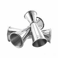 J012, Джиггер The Bars сталь 18/10 (15-22,5-30/37,5-45-60 мл)