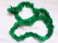 Пух на тасьмі 1,8 м 13 грам  зелений B 07