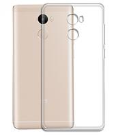 Чехол бампер для Xiaomi Redmi 4 Remax прозрачный