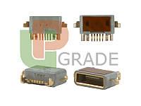 Разъем зарядки Sony LT15i/LT18/MT11i/MT15i/MT25//X12  (micro USB)