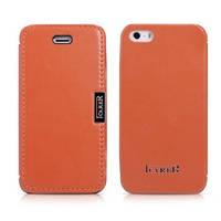 Чехол и сумку Icarer iPhone 5/5S/SE Luxury Orange