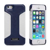 Чехол и сумку Icarer iPhone 5/5S Colorblock Blue/White