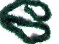 Боа пух марабу 1,8 м 25 грамм темно-зелений L 10