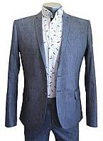 Мужской приталенный летний  пиджак  №93/2  - RAPSODY 9, фото 1
