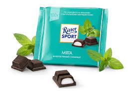 Шоколад Ritter Sport с мятой 100 г