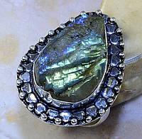 """Кольцо """"Сталагмит"""" с друзой лабрадором, размер 18.5 от студии LadyStyle.Biz, фото 1"""