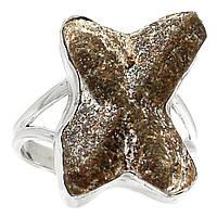 """Кольцо со ставролитом  """"Андреевский крест"""", размер 19.8 от Студии  www.LadyStyle.Biz"""