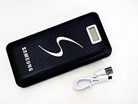 Повер банк Power Bank Samsung 30000 mAh 3 USB LCD-экран, фото 3
