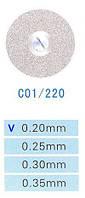 Диск алмазный двухсторонний C01/220/0.20 Kangda Gold Eagle