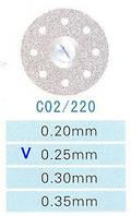 Диск алмазный двухсторонний C02/220/0.25 Kangda Gold Eagle
