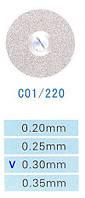 Диск алмазный двухсторонний C01/220/0.30 Kangda Gold Eagle