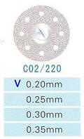 Диск алмазный двухсторонний C02/220/0.20 Kangda Gold Eagle