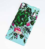 Чехол для Lenovo A7000 K3 Note Cath Kidston Flowers бирюзовый